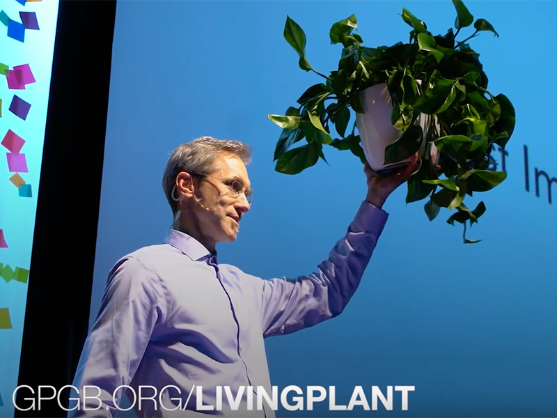 Living Plants are Nature's Game Changer